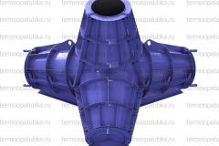 Металлоформа тетрапод