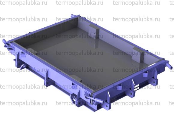Форма для дорожных плит