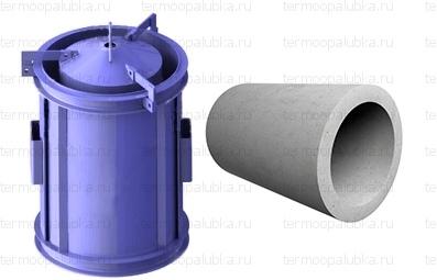 Металлоформа круглых труб