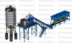 Производство бетонных заводов