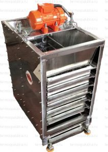 Вибросито лабораторное для сыпучих материалов