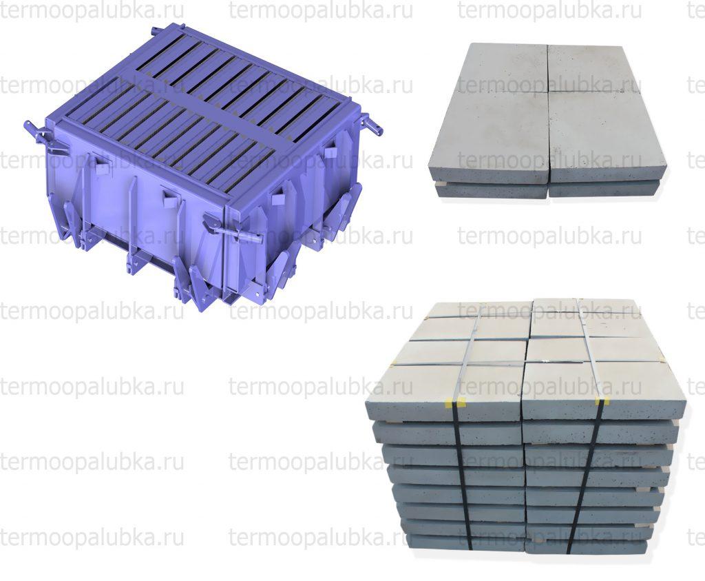 Форма для тротуарных плит