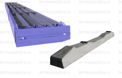 Металлоформа железнодорожных шпал