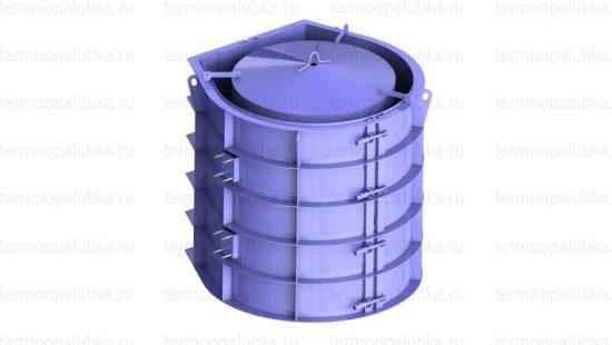 Металлоформа бетонных труб