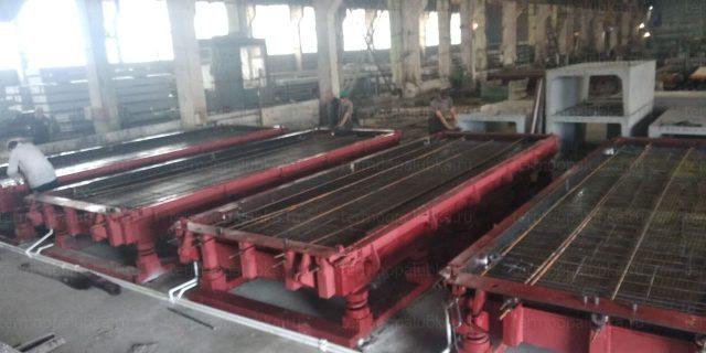 Оборудование для дорожных плит
