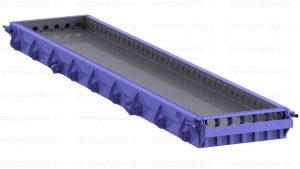 Стальная форма плит перекрытия ПК