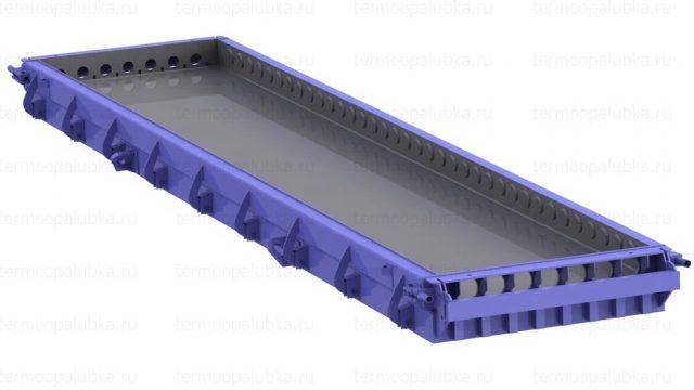 Опалубка для производства пустотных плит перекрытия
