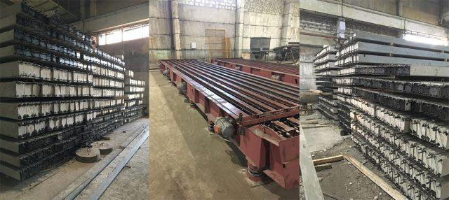 Металлоформы для производства столбов ЛЭП