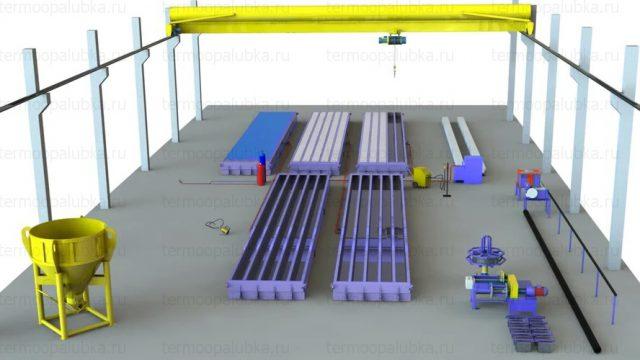 Опалубка для бетонных свай
