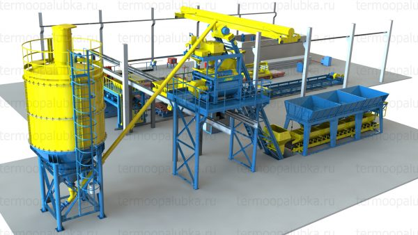 производство оборудования для производства бетонных заводов