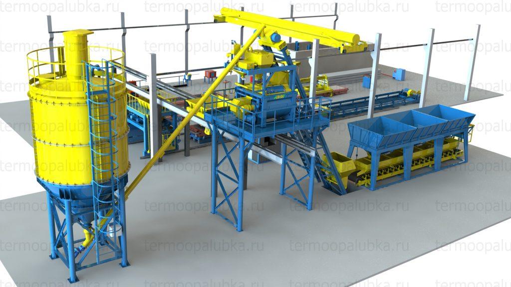 оборудование производства железобетонных изделий