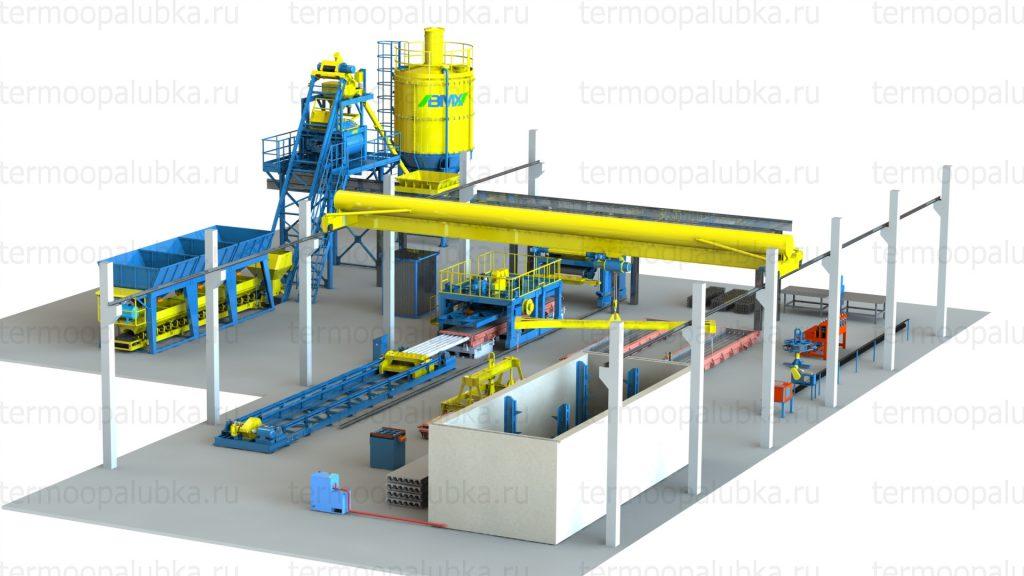 оборудование железобетонного производства