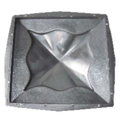 Форма для бетонных колпаков на забор