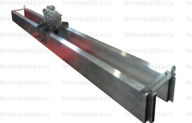 Виброрейка для бетона телескопическая