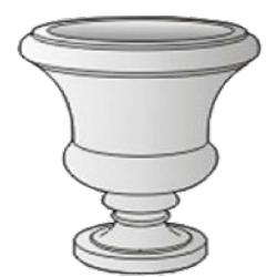 Форма для литья вазонов
