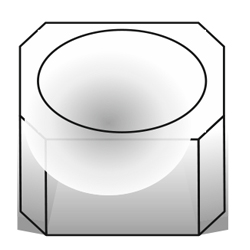 Форма для отливки вазонов