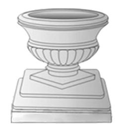 Форма для изготовления вазонов
