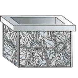 Форма для изготовления вазонов из бетона