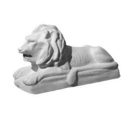 Форма для скульптуры льва