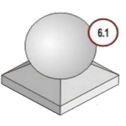 Купить форму для бетонного шара
