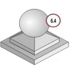 Форма для заливки шара