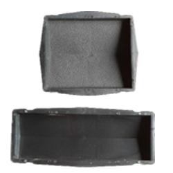 Формы для производства крышек заборов