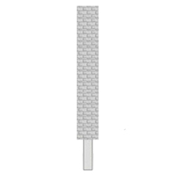 Купить форму для бетонного столба для забора