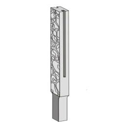 Формы для столбов забора из бетона