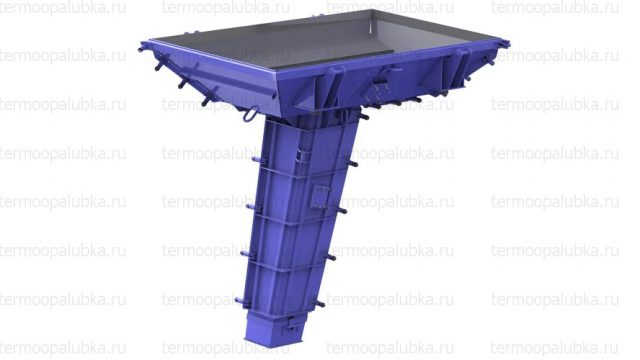 Металлоформы блоков серии Ф для стоек СВ
