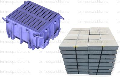Форма для производства тротуарных бетонных плит