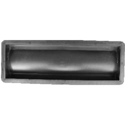 Форма для бетонного водостока