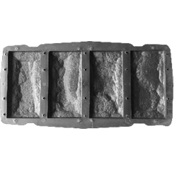 Форма для изготовления фасадной плитки