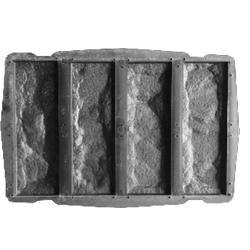 Пластиковые формы для фасадной плитки