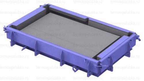 Форма для производства лестничной площадки