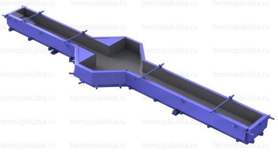 Металлоформа колонн