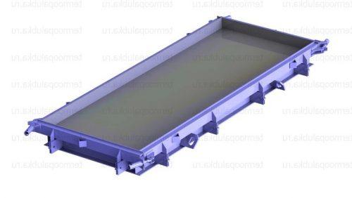 Металлоформы плит покрытия