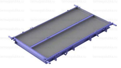 Металлоформа плит покрытия